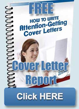 Cover Letter Report
